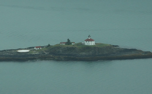 Eldred Rock Lighthouse in 2011.